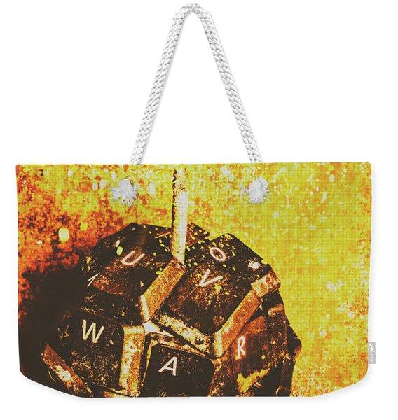 Media Meltdown Weekender Tote Bag