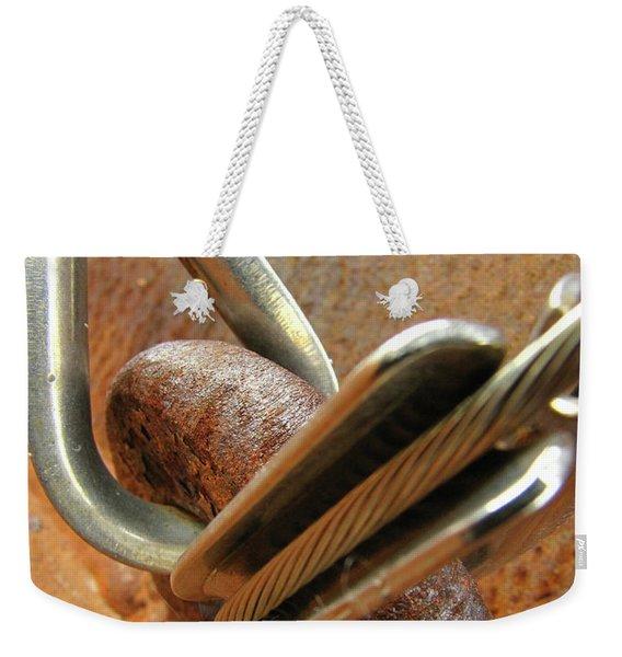 Mediation Of Conflict Weekender Tote Bag