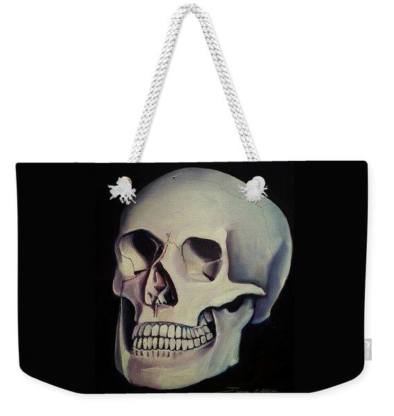 Medical Skull  Weekender Tote Bag