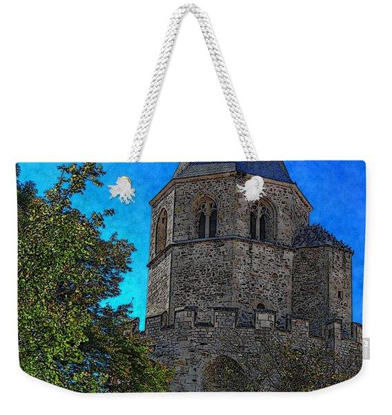 Medieval Bell Tower 1 Weekender Tote Bag