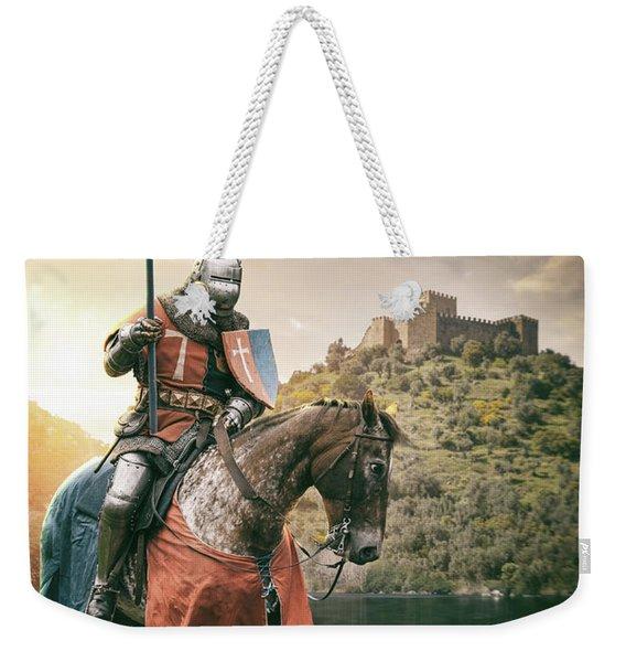 Medieval Knight 3 Weekender Tote Bag