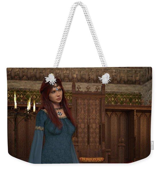 Medieval Queen Weekender Tote Bag