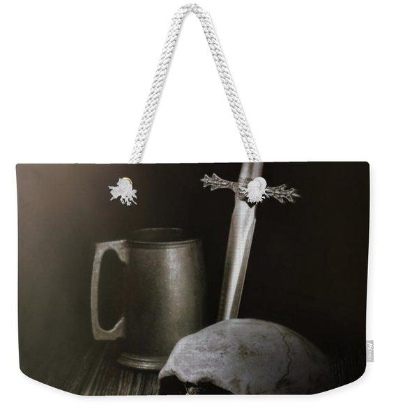 Medieval Still Life Weekender Tote Bag