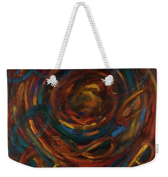 Meditation Painting #1 Weekender Tote Bag