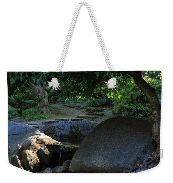 Meditation Path Weekender Tote Bag