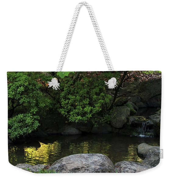 Meditation Pond Weekender Tote Bag