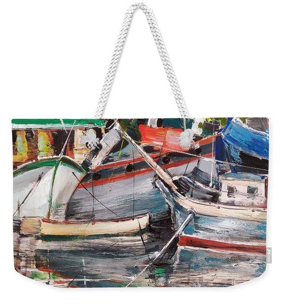Mediterranean Impression Weekender Tote Bag