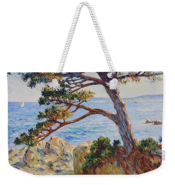 Mediterranean Sea Weekender Tote Bag
