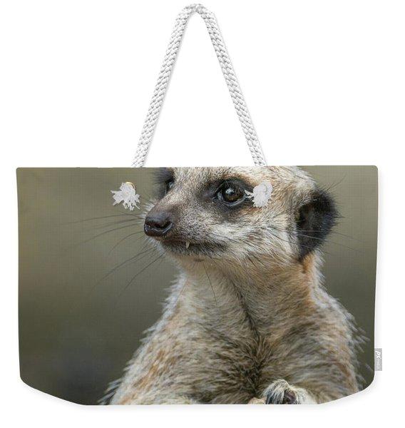 Meerkat Model Weekender Tote Bag