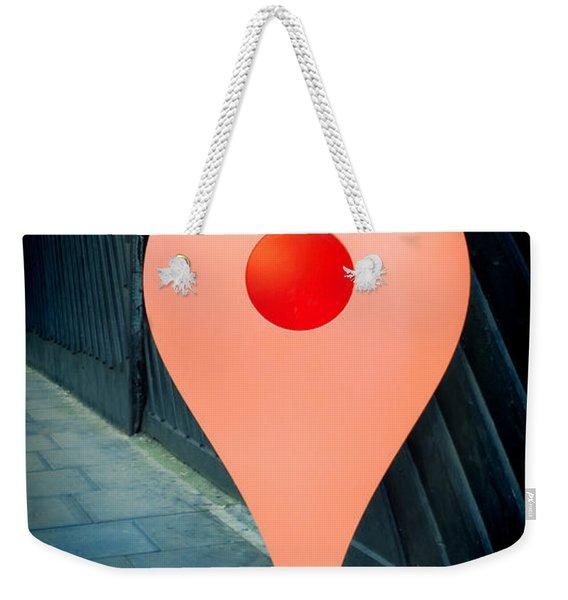 Meet Me Weekender Tote Bag