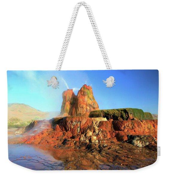 Meet The Fly Geyser Weekender Tote Bag