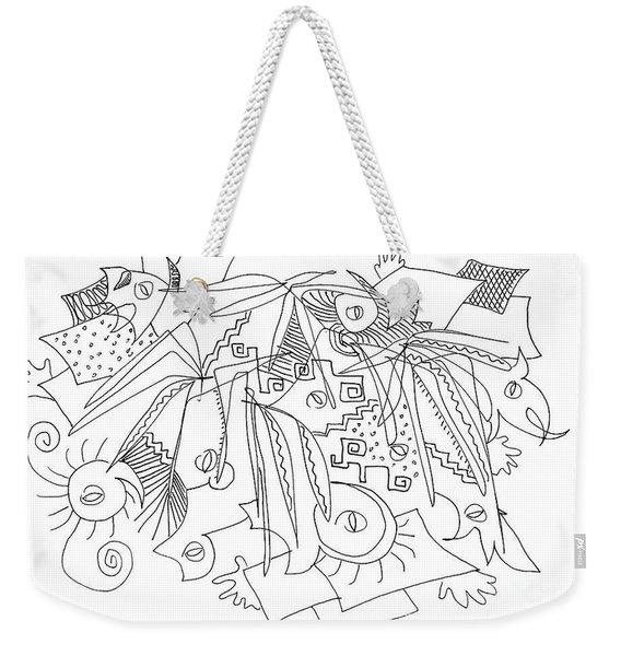 Meeting Under The Stars Weekender Tote Bag
