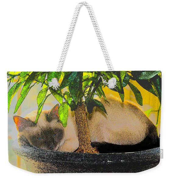 Meezer Tree Weekender Tote Bag