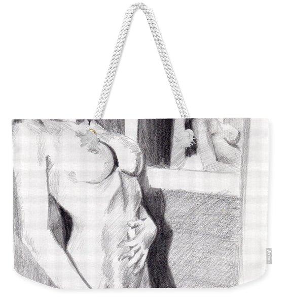 Megan-mirror Weekender Tote Bag