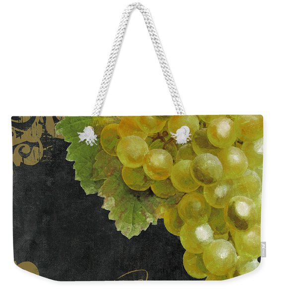 Melange Green Grapes Weekender Tote Bag