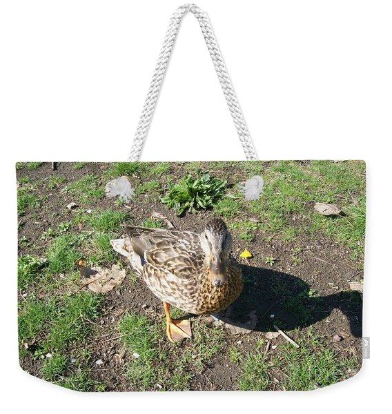 Melanie Tweed Visit At Boundary Bay Weekender Tote Bag
