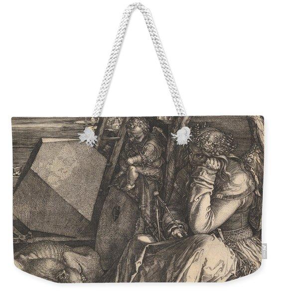Melencolia I, 1514  Weekender Tote Bag