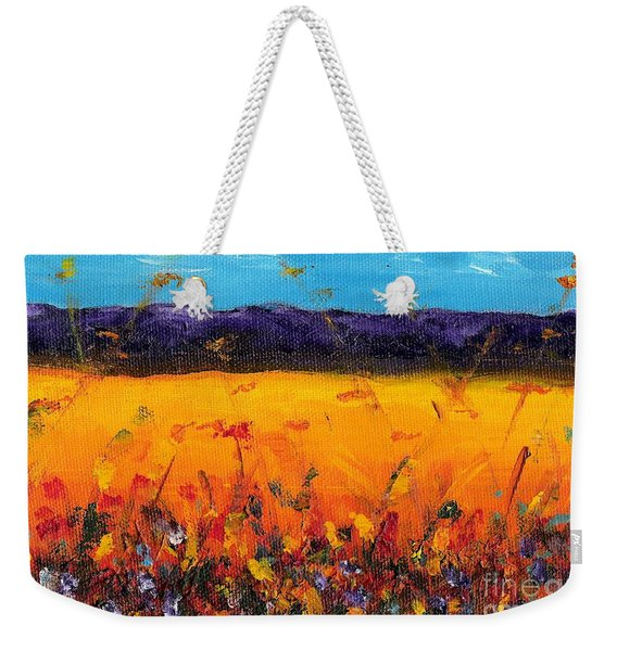 Melissa's Meadow Weekender Tote Bag