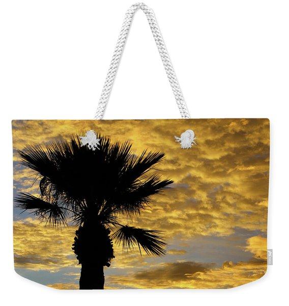 Mellow Yellow Sunset Weekender Tote Bag