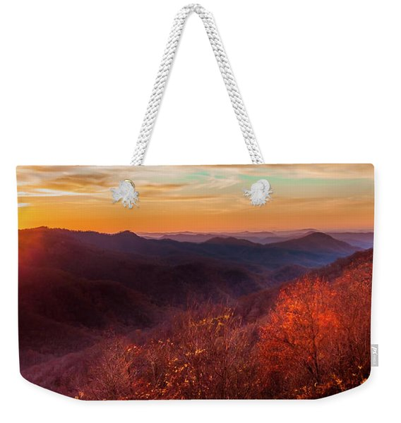 Melody Of Autumn Weekender Tote Bag