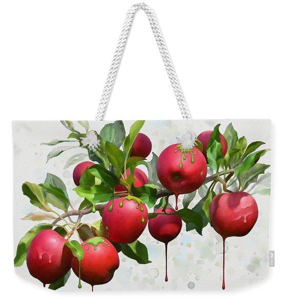 Melting Apples Weekender Tote Bag