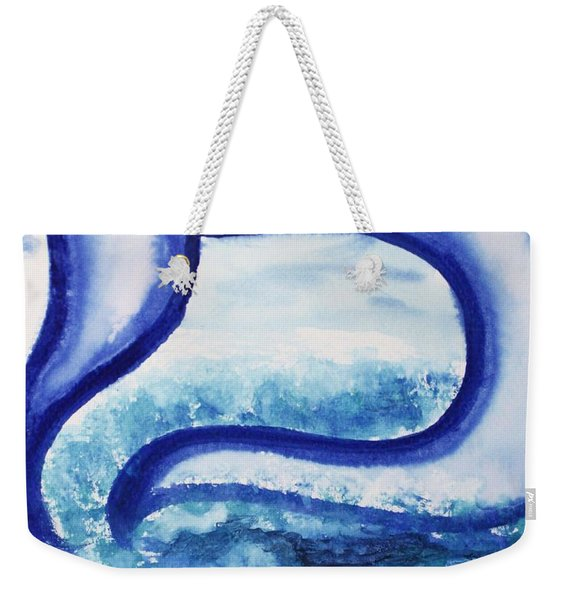 Mem In The Sea Weekender Tote Bag