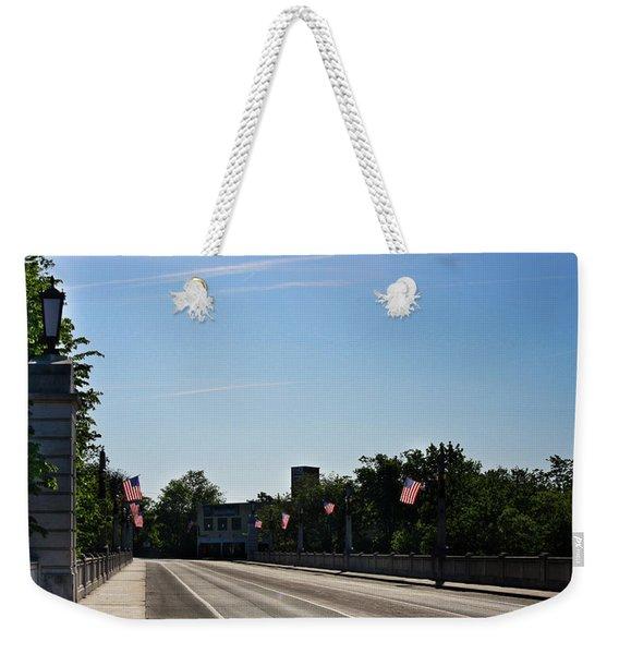 Memorial Avenue Bridge Roanoke Virginia Weekender Tote Bag