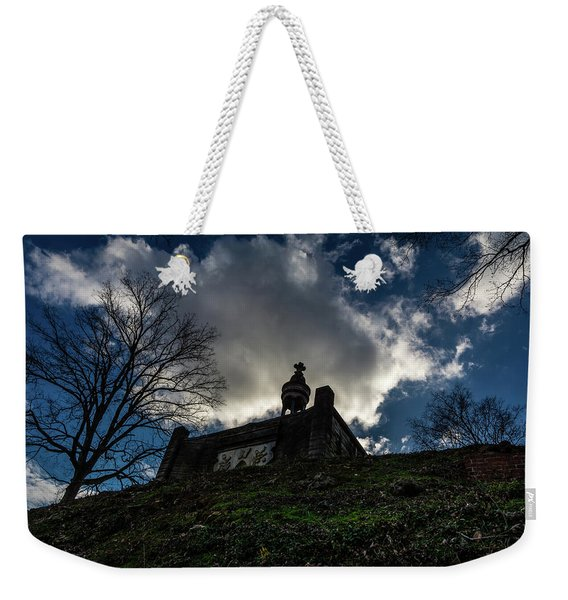 Memorial At The Summit Of The Hill Weekender Tote Bag