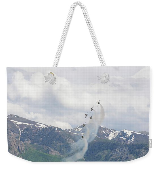 Memorial Pass Weekender Tote Bag