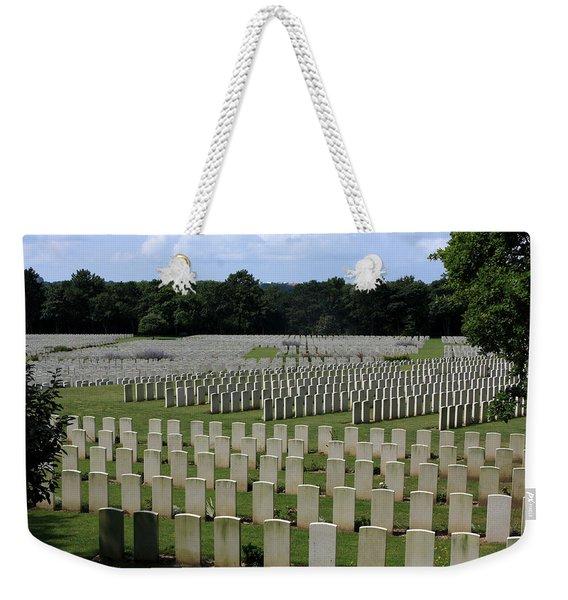 Memorial To Fallen Soldiers Weekender Tote Bag