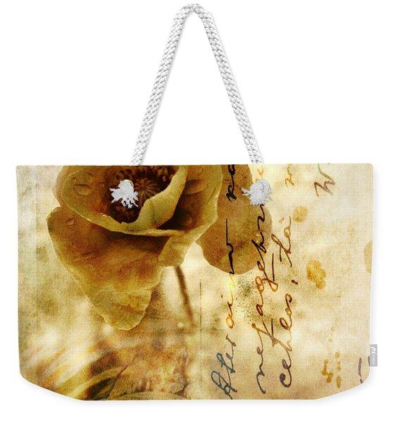 Memories And Time Weekender Tote Bag