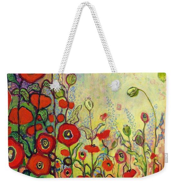 Memories Of Grandmother's Garden Weekender Tote Bag