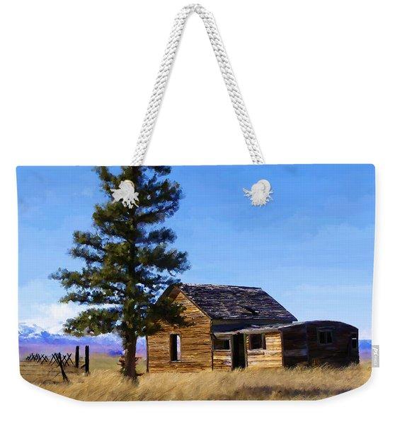 Memories Of Montana Weekender Tote Bag