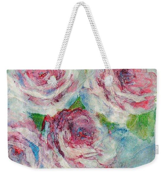 Memories Of Roses Weekender Tote Bag