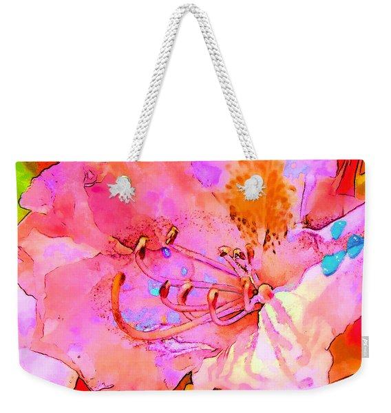 Memories Of Spring Weekender Tote Bag