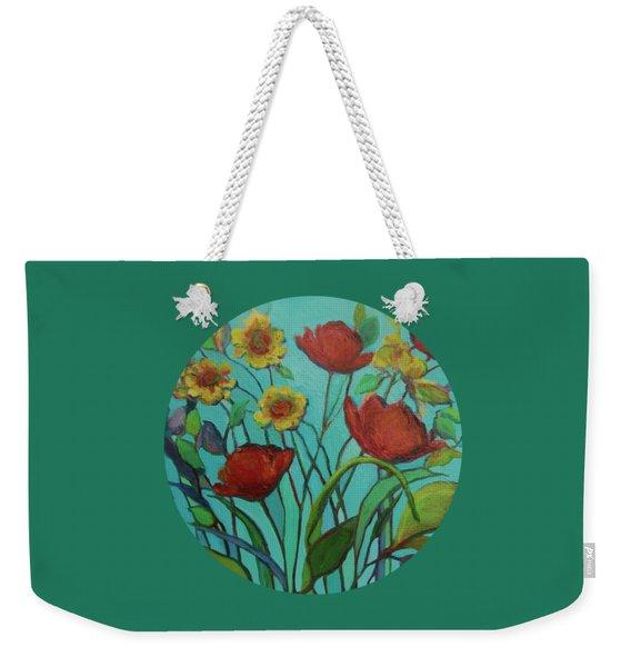 Memories Of The Meadow Weekender Tote Bag