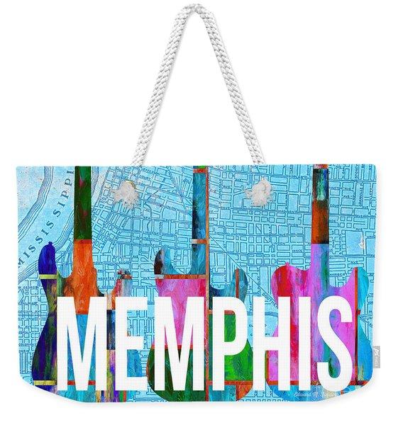 Memphis Music Scene Weekender Tote Bag