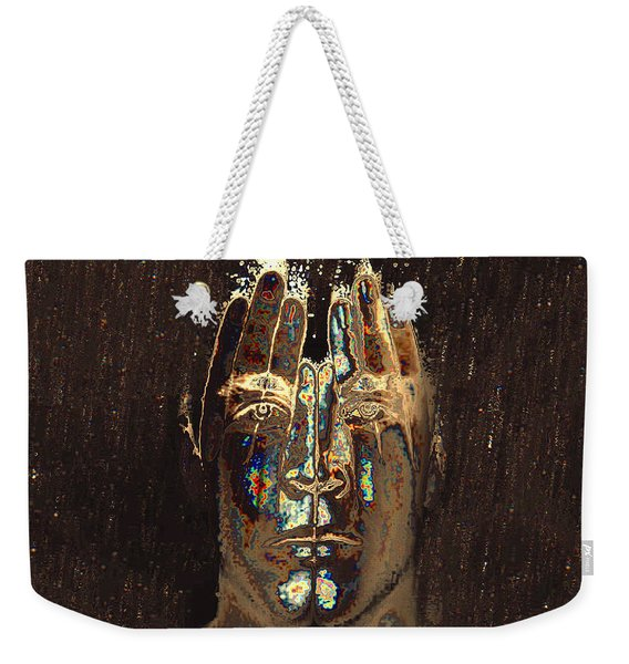 Men Are From Mars Weekender Tote Bag