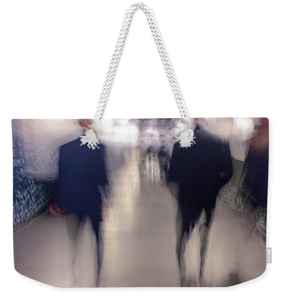 Men In Suits Weekender Tote Bag
