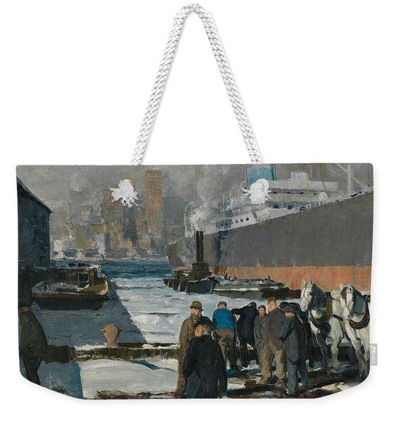 Men Of The Docks Weekender Tote Bag
