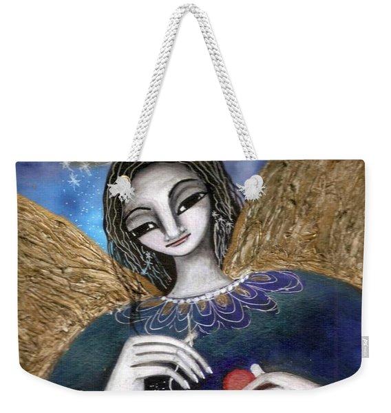 Mender Of Hearts Angel Weekender Tote Bag