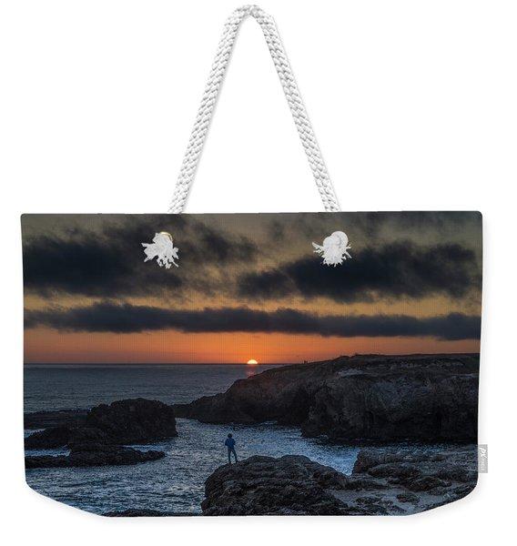 Mendocino Sunset Weekender Tote Bag