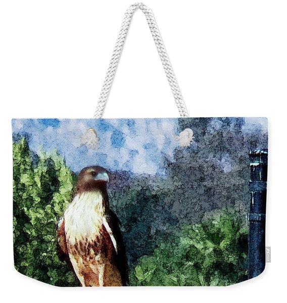 Menifee Falcon Weekender Tote Bag