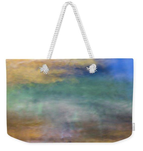 Merced River Reflections 12 Weekender Tote Bag