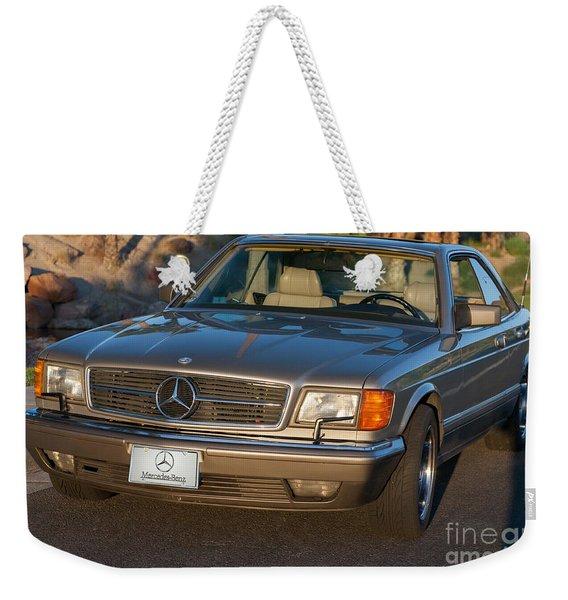 Mercedes 560sec W126 Weekender Tote Bag