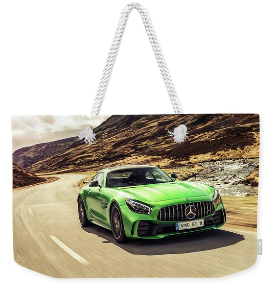 Mercedes A M G  G T  R Weekender Tote Bag