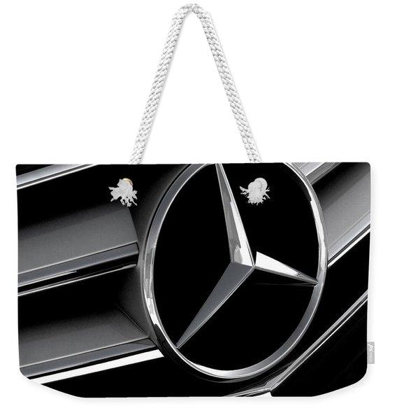 Mercedes Badge Weekender Tote Bag