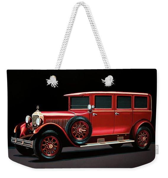 Mercedes-benz Typ 300 Pullman Limousine 1926 Painting Weekender Tote Bag
