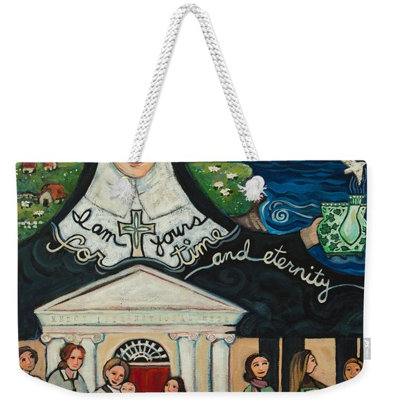 Mercy Foundress Catherine Mcauley Weekender Tote Bag
