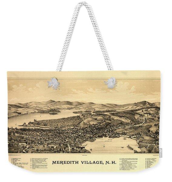 Meredith Village, N.h. Weekender Tote Bag